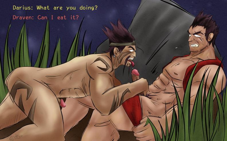 Darius having sex