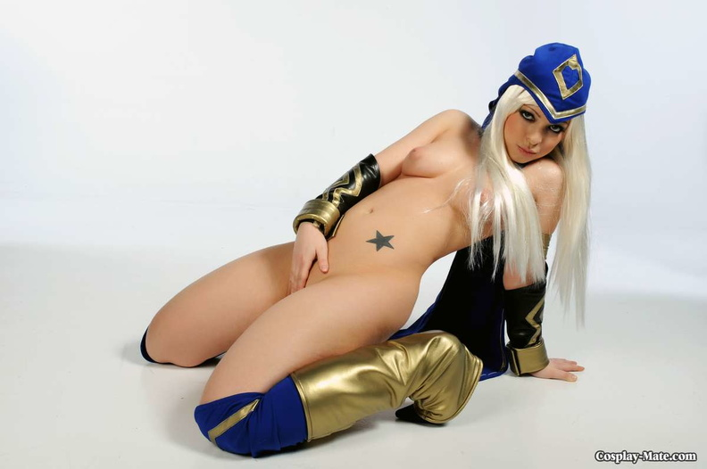 Ashe cosplay porn