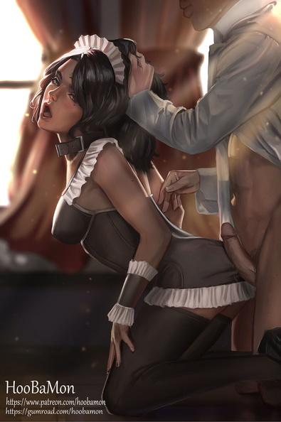 maid Hentai french
